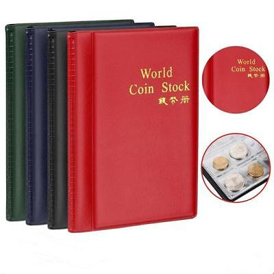 240 Album Coin Penny Money Storage Book Case Folder Holder Collecting J