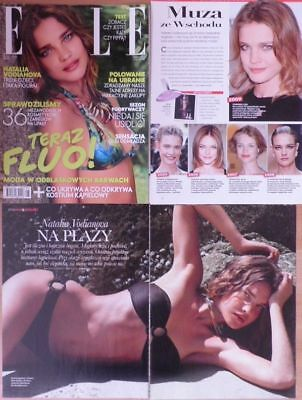 Natalia Vodianova - press articles, clippings