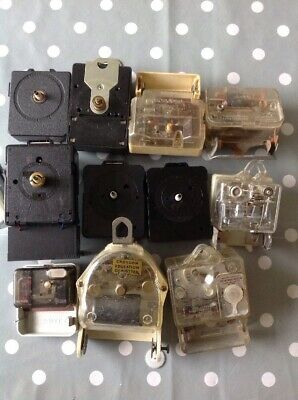 Vintage Electric Clock Movements From Specialist Electric Clock Collectors Parts