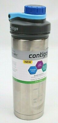 Contigo Shake Go Fit  24 oz Thermalock Insulated Stainless Steel Shaker Bottle