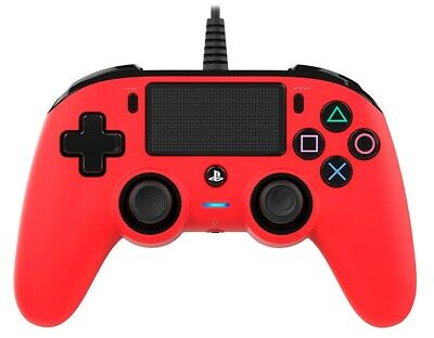 NACON Controller Wired Rosso PS4 Playstation 4 NACON