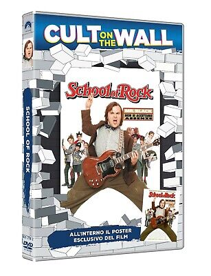 School Of Rock (Cult On The Wall) (Dvd+Poster) PARAMOUNT