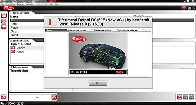 Delphi 2016 Cars & Trucks full keygen Multi language Ultima versione