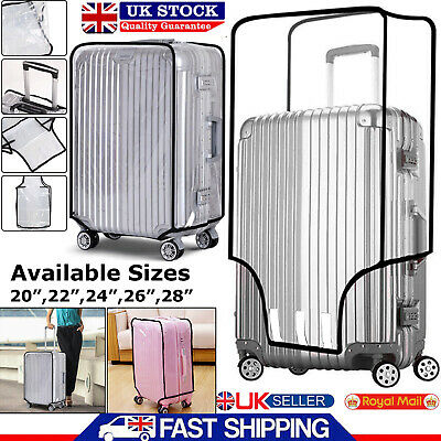 Transparent Suitcase Cover Luggage Protector Travel Pvc 20''22''24''26''28'' Bag