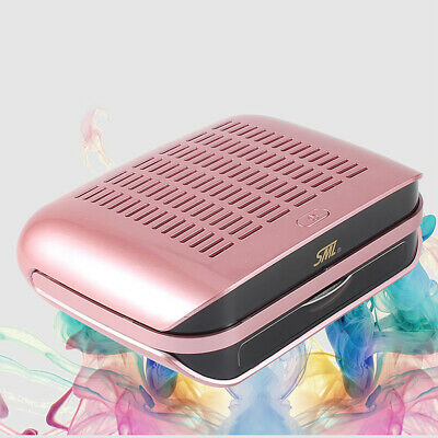 2 IN 1 Nail Vacuum Cleaner Manicure Dust Fans Collector Suction Fingernail 68W