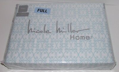 New Mint Green Dragonfly Cotton Nicole Miller Home Kids 4pc Full Sheet Set