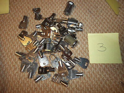 Lot Number 3 Of Assorted Keys/Locks high security lot