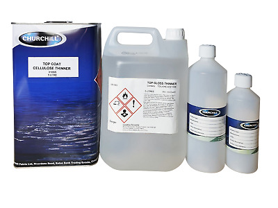High / Top Gloss Cellulose Thinner / Thinners 5 Litre / 1 Litre / 500Ml