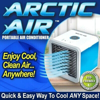 New Portable Mini Air Conditioner Cool Cooling  Artic Air Cooler Fan 2019