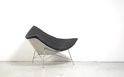 1st edition Herman Miller Coconut lounge chair design George Nelson 1955