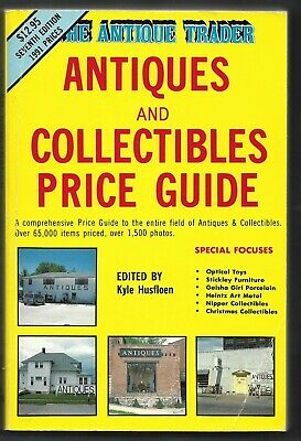 Antique Trader-Antiques, Collectibles Price Guide PB-1990-908 pages-7th Edition