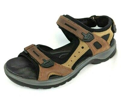 WOMENS ECCO ANKLE Strap Trail Sandals Shoes Size 8 8.5 Us
