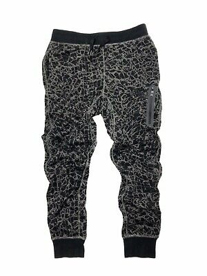 66d5ac5845 Nike Tech Fleece Jogger Sweatpants Size S Black Nylon Pants NikeLab Swoosh  NSW