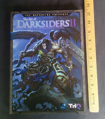 Joe Madureira's The Art of Darksiders II by THQ and Udon (2013, Paperback)