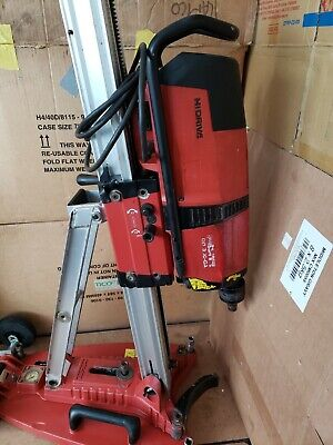Hilti DD 350-CA Core Drill with rig and suction base. 230v. used