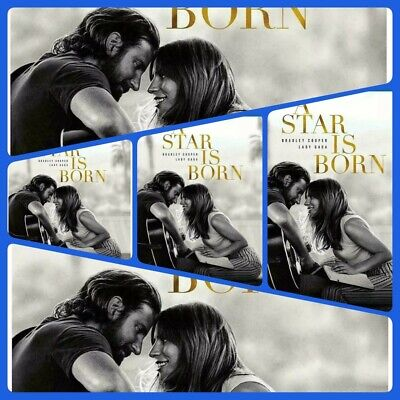 A STAR IS BORN (2018) blu-ray only, no insert,❤🎵 sent in SLIM blu-ray CASE ❤🎼