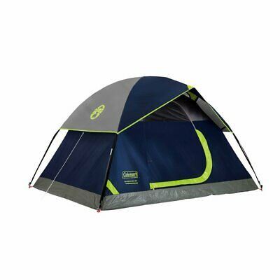 Coleman Dome Tent for Camping   Sundome Tent with Easy Setup Navy