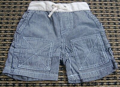 Country Road Baby Boys Striped Shorts Sz 3 - 6  Months