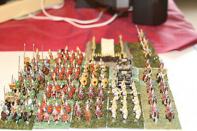 15mm Painted Metal Ancient Middle Imperial Roman army based for ADLG (167 pcs)