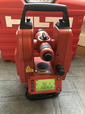 Hilti POT 10 Theodolite with Carry Case & Battery - Excellent Condition