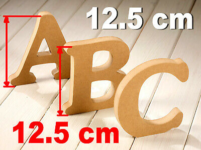 White WOODEN MDF LETTERS Free Standing Large 10-12-15-20 cm Wedding Georgia