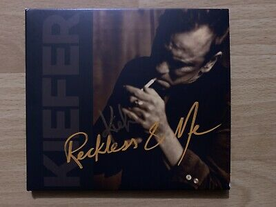 Kiefer Sutherland - Reckless & Me -Exclusive Signed Edition - Autographed- Mint