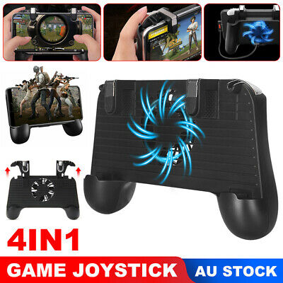 For PUBG Mobile Gaming Gamepad Controller Trigger Fire Button Power Bank Cooling