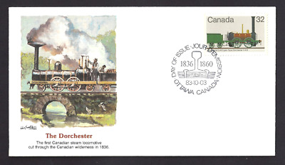 Canada  # 1000  Fleetwood Locomotive - Dorchester    New 1983 Unaddressed