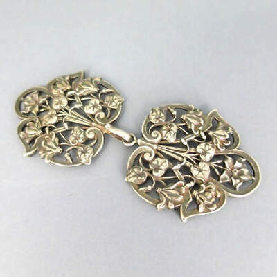 Romantic Belt Buckle, Gold Plated