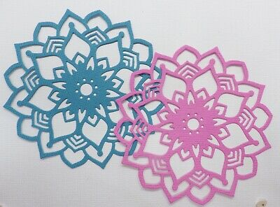 FREE POSTAGE OFFER - 6 X Flower Large Scrapbooking/Cardmaking Die Cuts