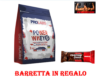 Prolabs Power Whey Ultra, 2000 g (2 Kg) -  Proteine siero di latte con creatina
