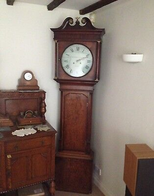 Antique 8 Day Long Case Clock by R. Homer & Sons of Nantwich