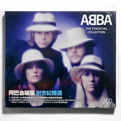 ABBA The Essential Collection Taiwan 2 CD BOX Best Greatest Hits 2012 NEW