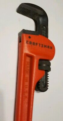 NEW Craftsman Tool 18 Heavy Duty Ajustable Pipe Wrench No. 51653 USA  MY51653