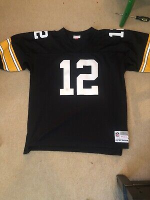 c1f00c8dd47 Pittsburgh Steelers Terry Bradshaw Jersey Mens 50 - 52 Mitchell & Ness  Throwback