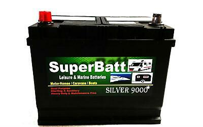12V 85AH Leisure Battery DEEP CYCLE For Motorhome / Caravan Campervan Boat