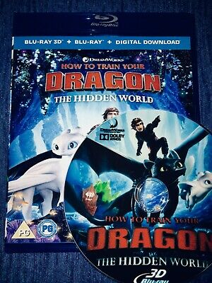 How To Train Your Dragon - The Hidden World Full Hd 3D Bluray Disc
