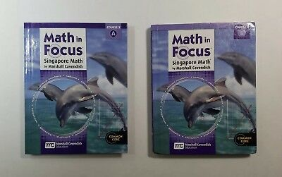 Math in Focus Grades 6-8 Textbook Set Course 3A & 3B Common Core Singapore Math