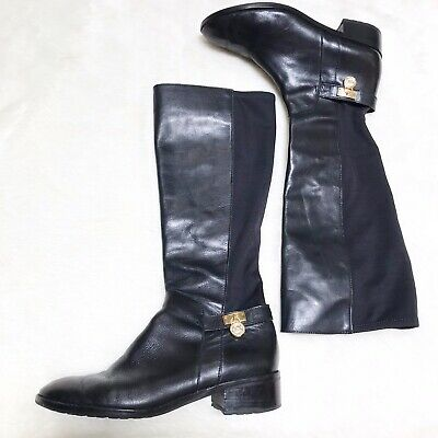 bca2db0ad44 ARIAT Short Black Leather Buckle Ankle Boots Women's Size 10B.