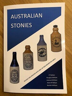 Australian Stonies 3rd edition of Ginger Beer Catalogue