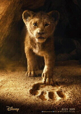 """015 The Lion King - Simba 2019 Hot Movie 14""""x19"""" Poster"""