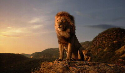 """010 The Lion King - Simba 2019 Hot Movie 24""""x14"""" Poster"""