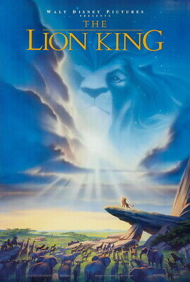 """008 The Lion King - Simba 2019 Hot Movie 14""""x20"""" Poster"""