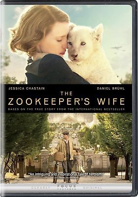 The Zookeeper's Wife (DVD, 2017) - **DISC ONLY**