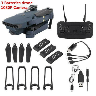 Drone X Pro Foldable Quadcopter WIFI FPV with 1080P HD Camera + 3 Batteries ❤lo