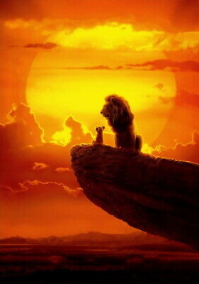 """011 The Lion King - Simba 2019 Hot Movie 24""""x34"""" Poster"""