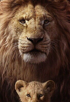 """009 The Lion King - Simba 2019 Hot Movie 24""""x35"""" Poster"""