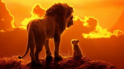 """013 The Lion King - Simba 2019 Hot Movie 42""""x24"""" Poster"""