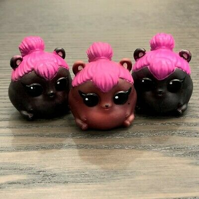 3PC LOL Surprise Pets Serie 4 EYE SPY Pet Spice SPICY HAM Dolls Color Change Toy