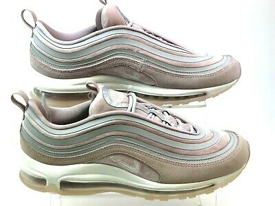 d0aef7046b Womens Nike Air Max 97 Pink Velvet Old Skool Retro Sporty Trainers Size 7  Faded
